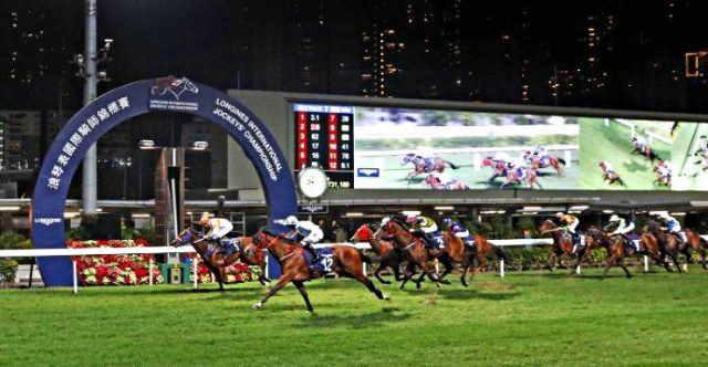 Course de Plat à Happy Valley à Hong Kong